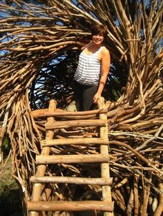 Dormir dans une cabane en forme de nid d'oiseau face à l'océan pacifique, Etats-Unis : http://www.trip85.com/2011/02/21/dormir-dans-un-arbre-dans-une-cabane-en-forme-de-nid-d-oiseau-etats-unis/