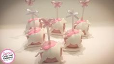 Sweet Cucas and Cupcakes by Rosângela Rolim: Pop Cakes Tema Carrossel!