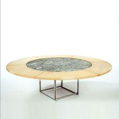 Poul Kjærholm, PK 54 Expandable Dining Table for E. Kold Christensen.