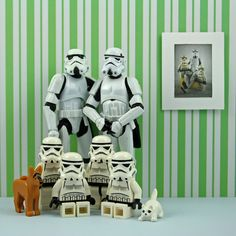 Raising a family (I had to put the Star Wars humor in to dim down the sappiness a little bit, haha).