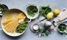 Anna Jones' easy one-pot recipes for carrot dal and a self-saucing pasta — the guardian (UK) One Pot Meals, Meals For One, Sandwiches, Asparagus Pasta, Lemon Asparagus, Pasta Shapes, Carrot Recipes, Healthy Recipes, Penne