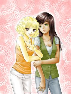 Meggy and Nelly by starca on DeviantArt My Sister, Sisters, Collections, Draw, Deviantart, Manga, Artwork, Anime, Painting
