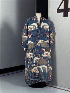 Robe de chambre d'homme © Eric Emo / Galliera / Roger-Viollet