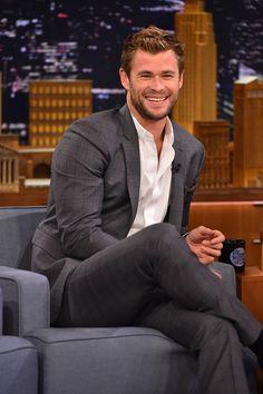 ~~Chris Hemsworth Photos - Chris Hemsworth Visits 'The Tonight Show' - Zimbio~~