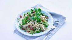 Kijk wat een handige video op Allerhande! Spaghetti met rauwe ham en ricotta