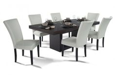 1000 images about dining room on pinterest dining sets discount furniture and 7 piece dining set. Black Bedroom Furniture Sets. Home Design Ideas