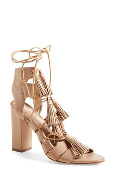 Loeffler Randall 'Luz' Tassel Sandal available at #Nordstrom