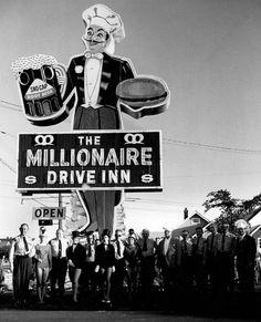 The Millionaire Drive Inn....Fort William, Ontario, Canada