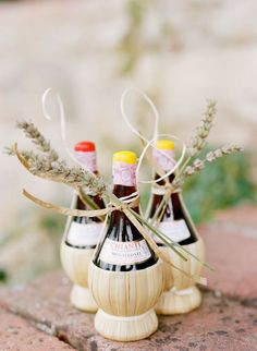 wine | 15 edible wedding favors