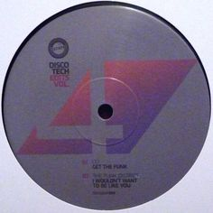 "Various – Disco Tech Edits Vol. 4 12"" DiscoDat – DISCODAT004"