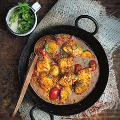 Chermoula, Tomato and Fish Tagine - Chef Recipe by Jennifer Joyce