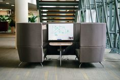 Feeling a bit closed in? Try using these 3 modern office space hacks to help redesign and refresh your over-crowded office. Explore our product collections to find the perfect piece of furniture to open up your small office space. Creative Office Space, Small Space Office, Modern Spaces, Modern Room, Office Furniture, Outdoor Furniture Sets, Space Hack, Adjustable Height Desk, Smart Design
