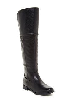 Fergalicious Admire Knee-High Black Boot; Regular $89.85, Sale $54.97