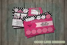 Samples Postcard - Double Sided - Book a Party - Recruit - Find Hostess - Perfectly Posh - Digital Download - Print Your Own