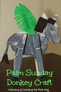 Palm Sunday Donkey Craft