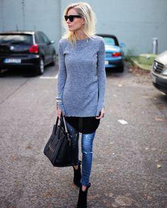 knits & denim. Berlin. #LisaRvd
