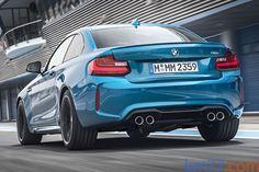 BMW Serie 2 M2 Coupé M2 Coupé Coupé Long Beach Blue Exterior Lateral-Posterior 2 puertas