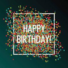 Joyeux anniversaire fête - Illustration vectorielle