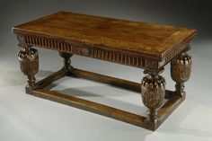 Lucy Johnson antiques, Elizabethan table