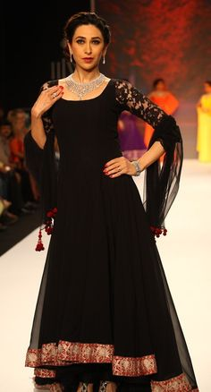 black anarkali manish malhotra - Google Search