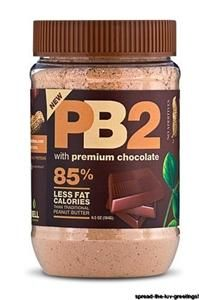 Chocolate PB2 Smoothie - Now takes the place of ice cream in my life.    1/4 cup of Chocolate PB2, 1/2 cup of Vanilla Almond Milk, 1 scoop Vanilla Protein Powder.  Add ice and blend!  Calories 210, Fat 5 grams, Carbs 21.5, Protein 23.5 grams