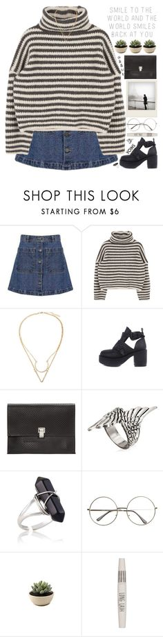 """""""give yourself something to look forward to that isn't a person"""" by alienbabs ❤ liked on Polyvore featuring Prada, Proenza Schouler, Polaroid, Topshop, clean, organized and yoins"""