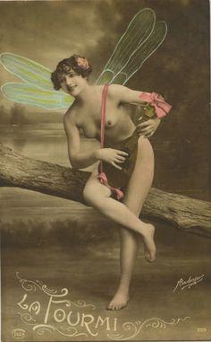 Bowon postcard old vintage