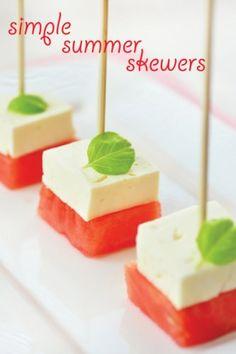 Watermelon & Feta: Simple Summer Skewers