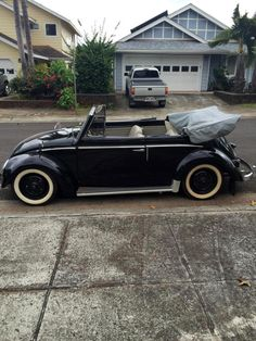 Paul Kobayashi, from Honolulu, Hawaï, U.S.A. His 1955 Euro VW Beetle Convertible, running a 1500cc engine with a '61 transmission. Join him on Facebook at:           …
