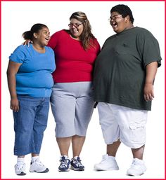 Morbid obesity is often a result of an overeating disorder.