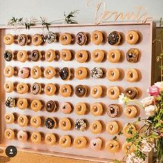 The latest (and possibly greatest) newfangled display-turned-dessert all over our social media feeds? Doughnut walls.