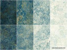 Stonehenge Gradations Blue Planet Rolls (Fat Quarter Bundles) - Linda Ludovico - Northcott