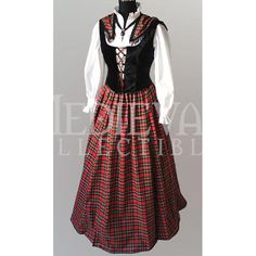 Scottish Lass Dress - MCI-119 by Medieval Collectibles