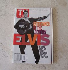 Elvis TV Guide January 2000 Entertainer Of The Century All About Elvis
