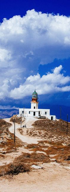Lighthouse . Mykonos Greece