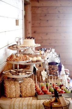 Desert table |-Little House on the Prairie inspired #littlehouseontheprairiewedding