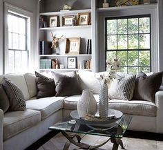 The Chic Technique:  35 Super stylish and inspiring neutral living room designs
