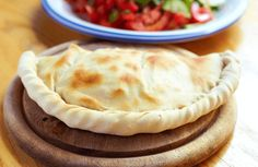 Grilled veggie calzones (I would do feta or some other cheese too)