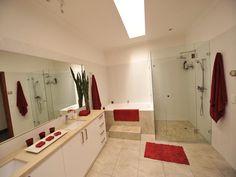 Bathroom colour highlights