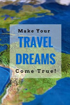 Those travel dreams really are possible! Go ahead and make them happen with this break-down of doable steps to create them now. (TheHealthMinded.com) #travel #health