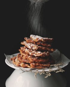 Health[ier] funnel cakes - but honestly who's eating funnel cakes with health on their mind?