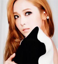 Jessica Jung SNSD Girls Generation Mesmerizing Stare GIFs