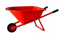 Childrens Wheelbarrow  Red Kids Garden Tool Product SKU GT25005 ** You can find out more details at the link of the image.