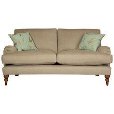 Buy John Lewis Penryn Small Sofa, Linen online at JohnLewis.com - John Lewis