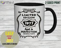 39e anniversaire mug 39 de cadeau d'anniversaire de par PortPrint1