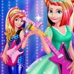 Royals Rock Dress, juegos de Elsa, juegos de Anna