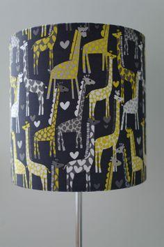 Kids Lampshade - Giraffes