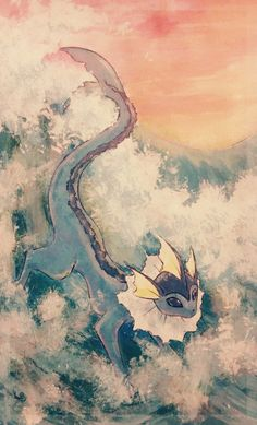 mrayquaza: vaporeon by request If there is a pokemon you'd like...
