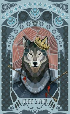 Robb's and Grey Wind's gruesome deaths left me broken hearted.