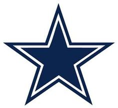 Dallas Cowboys Primary Logo on Chris Creamer's Sports Logos Page - SportsLogos. A virtual museum of sports logos, uniforms and historical items. Silhouette Cameo, Silhouette Projects, Silhouette Portrait, Dallas Cowboys Football, Cowboys 4, Nfl Dallas, Football Baby, Dallas Texas, Football Team